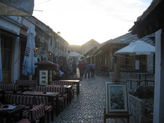 Mostar-Old-Town-street